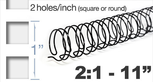 Twin Loop Wire 2:1 Pitch