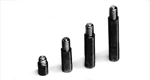 Black Aluminum Screw Post Extensions