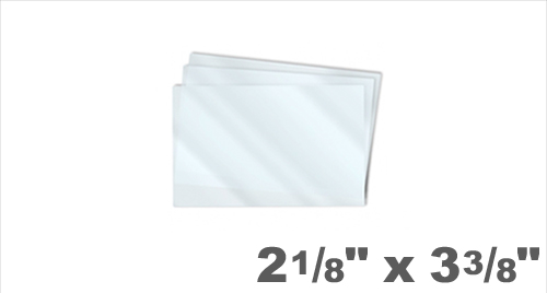 Credit Card Laminating Pouches 2-1/8