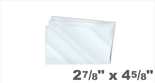 Memorial Size Laminating Pouches 2-7/8