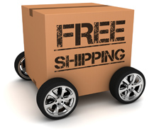 Fast and FREE ground shipping